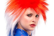 Summer Time Party & 4th of July Wigs / Summer is here, we have the perfect wig for any party.  A new addition from Jon Renau is the Punky, Red/White/Blue wig perfect for 4th of July / by Wig Salon