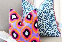 pillow party / by Maggie Philbin @ Mag's Rags to Riches