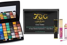 F.O.G. Holiday Beauty SALE 2!!!! / F.O.G. Runway Eyeshadow Palette & Light-Up Lipgloss SALE!! $50/ reg. $85 (save $35.00)   Shop www.FOGcollection.com today!  / by F.O.G. FAVOR OF GOD