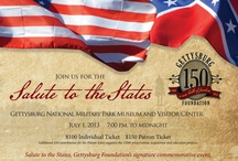 Salute to the States  / The Gettysburg Foundation's signature commemorative event featuring a lively, evening-long tribute to the fifty States of America. / by Gettysburg National Military Park Museum & Visitor Center