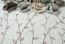 Laços e flores. / by Ligia Affine Jorge