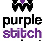 Purple Stitch Project / Projects, patterns, logos and inspiration for the Purple Stitch Project to benefit children with epilepsy.  / by Vickie Howell