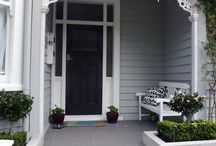 Front doors/entrances / by Caroline Ricci