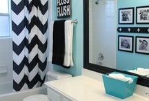 Upstairs bathroom remodel / by Carrie Van Vleet