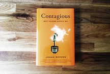 Why things catch on. / Bringing Jonah Berger's Contagious to life.  / by Laura Wright (Sarginson)