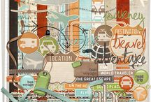 Digital Scrapbooking Kits / Board dedicated to Digital Scrapbooking Kits from around the web / by Ania Kozlowska-Archer