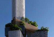 :: Skyscrapers ~ / by Eduardo Godoi
