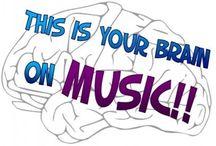 Music Classroom - Brain Development/Heirarchy / by Tiffany Boals