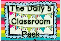 Daily Five/Daily Five Math/CAFE / by Virginia Lynn