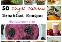 Weight Watcher's Breakfast ideas / by Brenda Henke