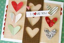 Homemade-Handmade Valentines / by Gael Clauson