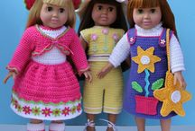 doll clothes / by Sandy Carlson