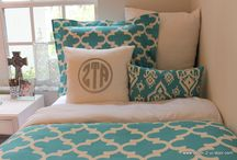 Zeta Tau Alpha Sorority Bedding / Zeta Tau Alpha sorority bedding and décor ideas add your letters and a monogram Perfect for rush tours.  Select your own fabrics. / by Decor 2 Ur Door