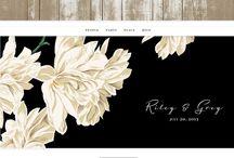 wedding websites / by Bailey Farnsworth
