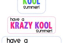 JUNE - schools out for SUMMER / by Kerry Ames