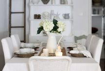 dreamy whites / by Mary @ At Home on the Bay