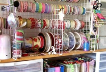 sewing and craft rooms / by PATTY CHANDLER