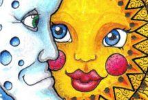 ♡♡creatief en gekleurd!!♡♡ / by Wil Koolhaas de Boer