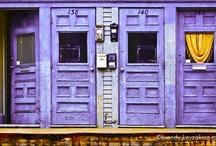 Color * purple & lavender  / by Rafaella Moiseos