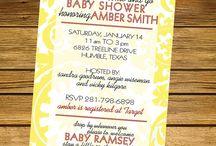 Baby Shower  / by Ashley Craig
