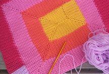crocheting / by Eva Collins Melius