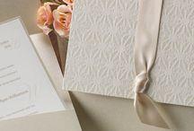 Neutral Wedding Invitations / by InvitesWeddings