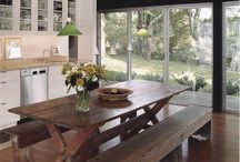 Furniture / Reclaimed Dinning room table  / by Christina Hish