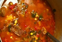 Favorite Home Recipes / Vegetable Beef Soup / by Linda Page