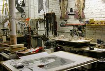 Atelier, all kinds.. / by Wilfred Kalf