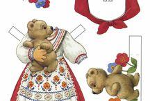 Paper Dolls / by Barbara Ewing