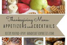 Thanksgiving ideas / by Tamra Butler