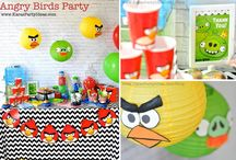 Andrew's Angry Birds 4th Bday / by Christine Crawford Smith