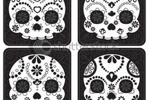 Skulls & Such / Skulls - Dia de los Muertos - Calaveras -Catrinas  / by Jodi Torres