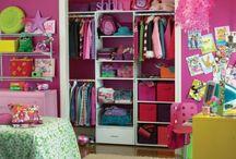 kid closet idea / by Melissa Coon