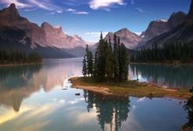 Scenery of Jasper National Park  / Jasper National Park has some of the most breathtaking natural landscapes in the world. Here is a glimpse into some of them but please come and see it with your own eyes:) / by Overlander Lodge