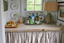 home: wet bar / Ideas on how to build,add, and present a wet bar in your home.  / by Coordinately Yours by Julie Blanner