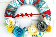 CRAFTS / Wreaths / by Norma Rodriguez