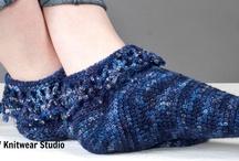 Crochet Rocks Socks / by Karen Whooley / KRW Knitwear Studio