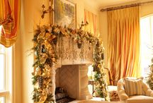 decorating for xmas party / by Janet Germiller