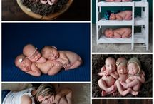 Triplets Posing ideas / by Kristy Mannix Photography
