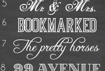 Fave Chalk Fonts / by Anne-Marie Mitchell