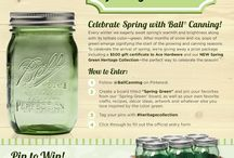 Spring Green / I have always wanted to try canning. I loved the time I spent in the kitchen with my grandmother canning green beans and jellies / by Dawn May-Bradley