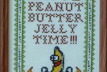 Cross stitch  / by Tammy Ezell