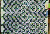 Quilt - storm at sea / by Glass Quilt