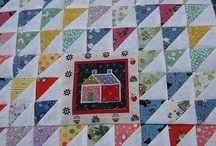 Half Square Triangle quilts and blocks / by Jane Reeves