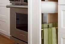 kitchen storage / by phin & ollie