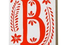 Typography / by Melanie Pyves