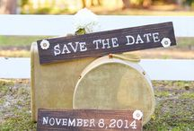Save the Date Ideas / by The Pink Bride