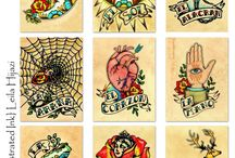old school tattoo / by Edwin Mulder
