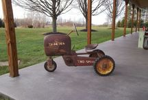 Pedal Tractors and Cars / by Vicki Mulder